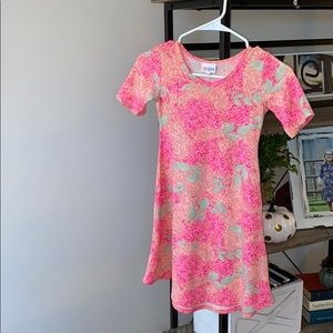 Girls LuLaRoe Size 8 dress